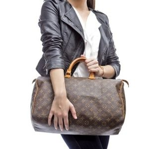 Auth Louis Vuitton Speedy 40 Hand Bag #911L18
